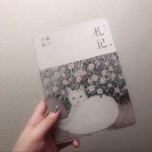 🌸3/$25 Cat notebook drawing bullet journal